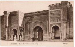 Meknes, Porte Bab Mansour, El Alluj (pk48741) - Meknès