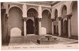 Le Maroc, Tanger, Vue De La Cour De La Casbah (pk48742) - Tanger