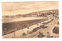 CPA WESTON SUPER MARE  Esplanade  1910 - Weston-Super-Mare