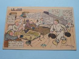 LE JUS ( N° 27 / Garde à Vos ! ) Anno 19?? ( Zie Foto Voor Details ) ! - Humoristiques
