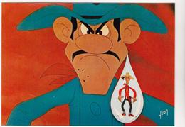 MORRIS Ed  Yvon  N°20   -  Bande Dessinée Lucky Luke Les Dalton -   CPSM  10,5x15 TBE 1972 Neuve - Comics