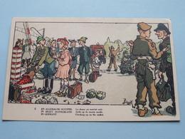 En ALLEMAGNE Occupee - In BEZET Duitsland - In Germany ( 5 - Edit. BZ ) Anno 19?? ( Zie Foto Voor Details ) ! - Humoristiques