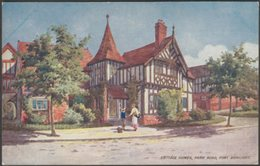 Cottage Homes, Park Road, Port Sunlight, Cheshire, C.1910s - Lever Brothers Postcard - England