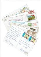 DIVERS AMERIQUE SUD /  Lot De 90 Cartes Postales Timbrées - Timbres