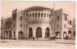 Maroc, Casablanca, Bourse Du Commerce, Bousquet, Architecte (pk48751) - Casablanca