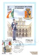 Cartolina Maximum Accademia Militare Di Modena 1999 - Cartoline