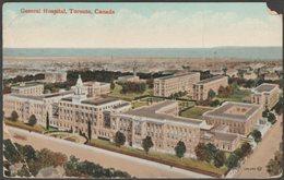 General Hospital, Toronto, Ontario, 1912 - Valentine's Postcard - Toronto