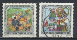 °°° AUSTRIA 1999/2000 - Y&T N°2130/31 °°° - 1945-.... 2a Repubblica