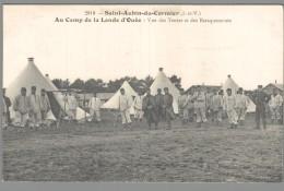 CPA 35 - Saint Aubin Du Cormier - Au Camp De La Lande D'Ouée - Vue Des Tentes Et Des Baraquements - Unclassified