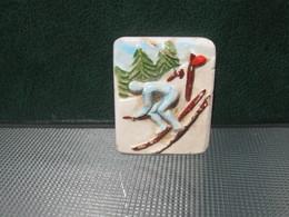Fève Skieur De Slalom Série Ancienne 92 Champions Les Rois - Fèves - Rare T Perso - Sports