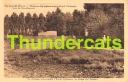 CPA  SINT AMANDS PUERS PUURS MERKWAARDIG GRAFMONUMENT EMIEL VERHAEREN AAN DE SCHELDEOEVER - Puurs