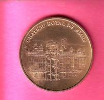 JETON TOURISTIQUE MDP MONNAIE DE PARIS 1999 CHATEAU ROYALE DE BLOIS - Unclassified