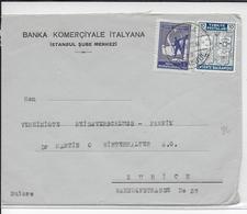 TURQUIE - 1941 - ENVELOPPE De ISTANBUL => ZÜRICH (SUISSE) - Lettres & Documents
