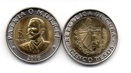 Cuba - 5 Pesos 2016 UNC Lemberg-Zp - Cuba