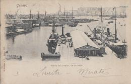 Italie - Genova - Porto Dall'Hotel De La Ville - Genova (Genoa)