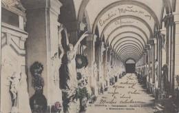 Italie - Genova - Camposanto - Galleria Inferiore E Monumento Casella - 1903 - Genova