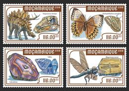 MOZAMBIQUE 2018 - Naturkunde Museum, Dinosaur. Official Issue - Prehistorisch