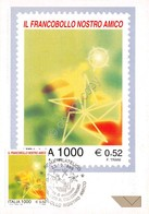 Cartolina Maximum Francobollo Nostro Amico ? 0.52 1999 - Cartoline
