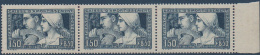 N°__252 CAISSE D'AMORTISSEMENT, BANDE DE 3 TIMBRES TYPE I /II ET  III SE TENANT, TIMBRE NEUF**/*, 1928 - Nuovi