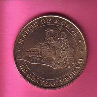 JETON TOURISTIQUE MDP MONNAIE DE PARIS 2002 MAIRIE DE MUROL LE CHATEAU MEDIEVAL - Monnaie De Paris