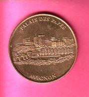 JETON TOURISTIQUE MDP MONNAIE DE PARIS 2004 PALAIS DES PAPES AVIGNON - Monnaie De Paris