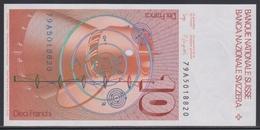 Switzerland 10 Franken (19)79 UNC - Switzerland