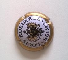 Plaque De Muselet Champagne LOUS ROEDERER ( Noir, Blanc Et Or ) - Roederer, Louis