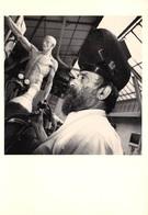 CPM - Photo Gérard Rondeau - César - Atelier Paris 1987 - Portraits D'Artistes - Photographe - Photographie