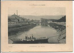 Yverdon, La Thièle, Photo Sur Carton Format 13x18 ( Cpn 2072) - Lieux