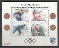 Norway MNH Michel Nr Block 14 From 1990 / Catw 8.00 EUR - Blokken & Velletjes