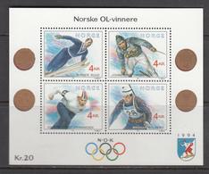 Norway MNH Michel Nr Block 16 From 1991 / Catw 8.00 EUR - Blokken & Velletjes