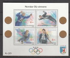 Norway MNH Michel Nr Block 17 From 1992 / Catw 8.00 EUR - Blokken & Velletjes
