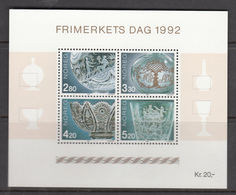 Norway MNH Michel Nr Block 18 From 1992 / Catw 6.00 EUR - Blokken & Velletjes