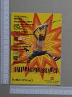 SPAIN - SALTARAS POR LOS AIRES -  MADRID -   2 SCANS  - (Nº23709) - Afiches En Tarjetas