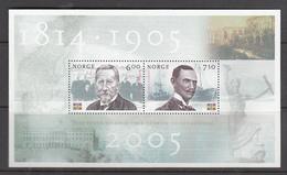 Norway MNH Michel Nr Block 28 From 2005 / Catw 3.20 EUR - Blokken & Velletjes