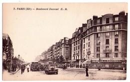 1974 - Paris ( XXe ) - Boulevard Davout - E.M.- N°7 - ( Anc. étab. Malcuit ) - - Arrondissement: 20
