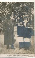 Le Roi Et La Reine De Bulgarie Et Leurs Deux Filles  King And Queen Bulgaria - Bulgarie