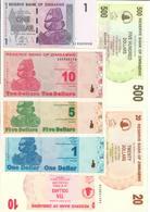 Zimbabwe Lot Set 7 Banknotes UNC .C2. - Zimbabwe