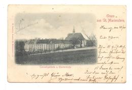 0-8291 PANSCHWITZ - KUCKAU, Kloster St. Marienstern, Conventgebäude Und Klosterkirche, 1899 - Panschwitz-Kuckau