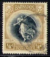 BARBADOS 1920 -  From Set Used - Barbados (1966-...)