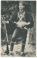 Soldat Grec Beau Plan  Edition Xenophontides Salonique Ecrite 1916 WWI - Grèce
