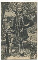 Soldat Grec Beau Plan  Edition Sonides Salonique Ecrite 1916 WWI - Griekenland