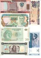 Africa Lot 6 Banknotes UNC .C2. - Banconote