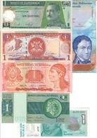 America Lot 6 Banknotes UNC .C2. - Banknotes