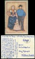 14440 DR Feldpost Niederlande Karte Trachten Bunschoten 11.11.1943 , Bedarfserhaltung. - Briefe U. Dokumente