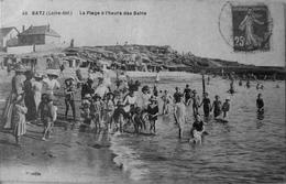 La Plage à L'heure Des Bains - Batz-sur-Mer (Bourg De B.)