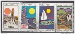 Cuba Nº 1368 Al 1371 - Cuba