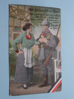 Mein STOLZENFELS Am RHEIN ( Nr. 3002 / K. V. Berlin O. 27 ) Feldpost Nr. 198 - Anno 1916 ( Zie Foto Voor Details ) ! - Guerre 1914-18