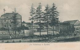 "ZZ791 - CANTONS DE L' EST - Carte-Vue Gut Vlattenhaus In EYNATTEN - TP Houyoux 1923 - "" Notre Caserne "" - Belgique"
