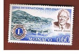MONACO   -  SG 886  -  1967 LIONS INT.            - MINT** - Nuovi